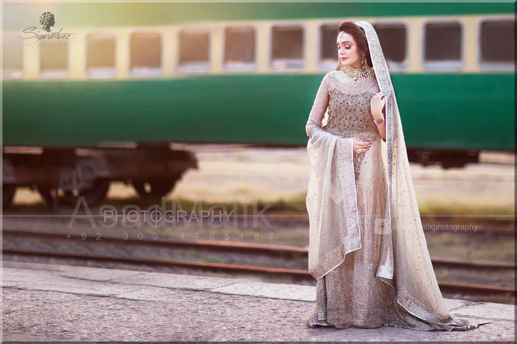 A line barat Bridal dress