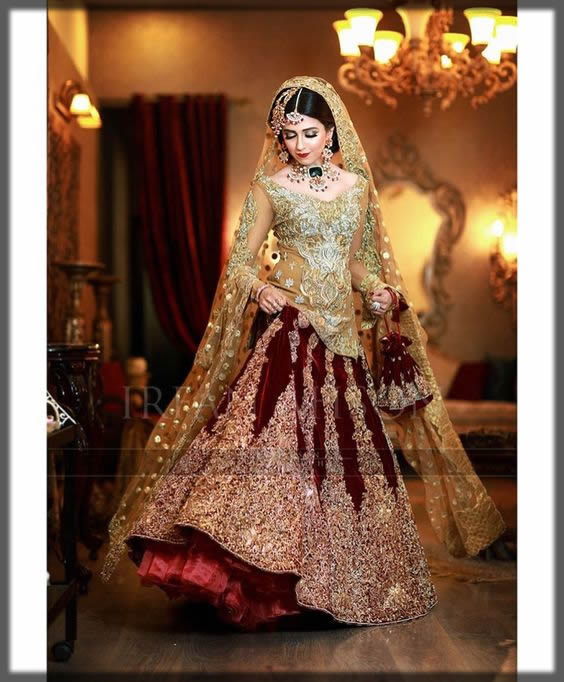 Pakistani Bridal Dresses Lehengas And Gowns Collection 2020