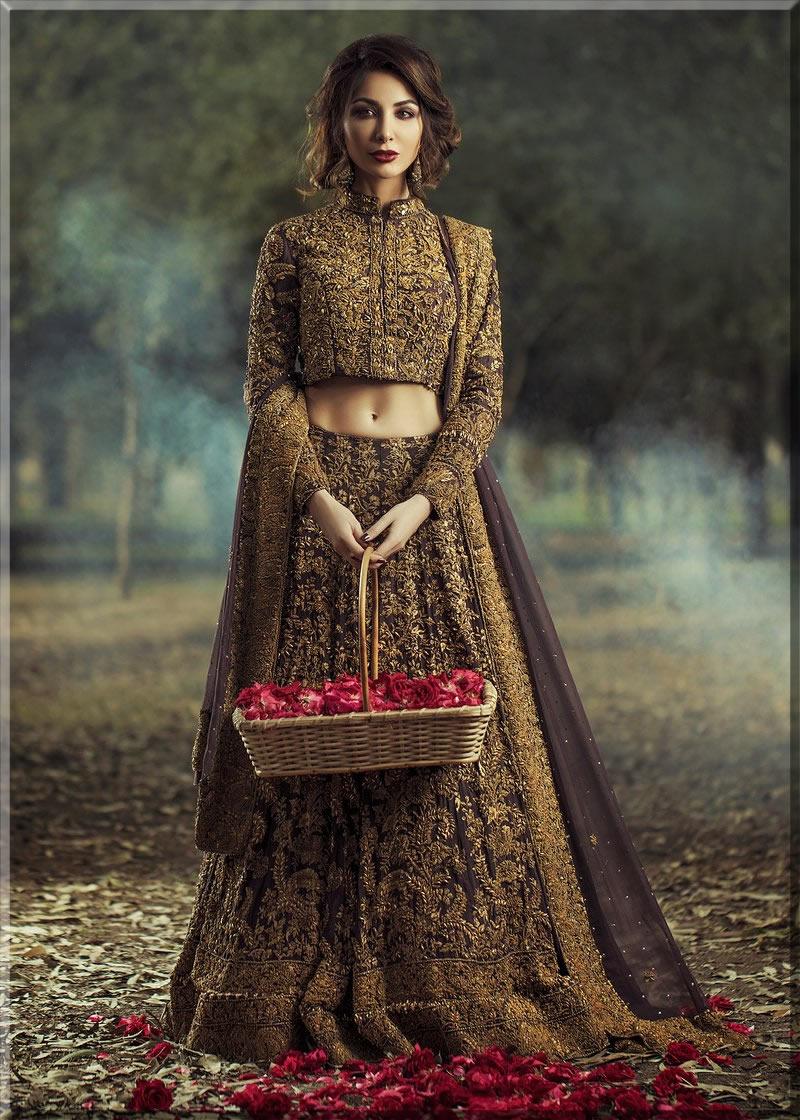 HSY Latest Pakistani Bridal Dress
