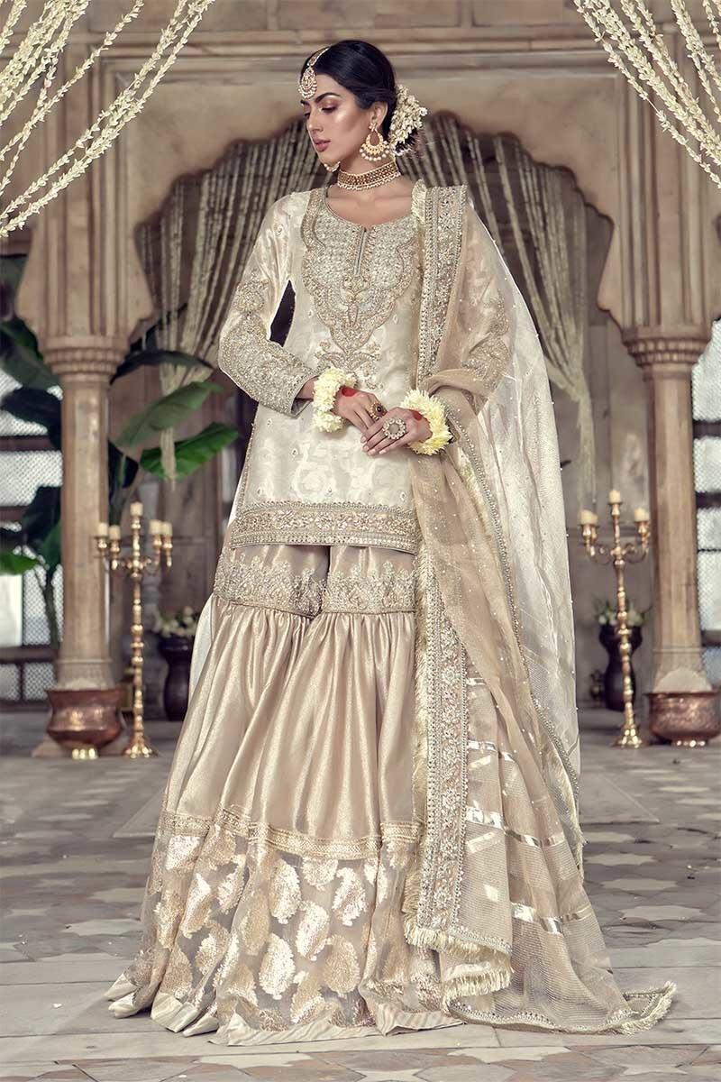 Traditional indian gharara dress design