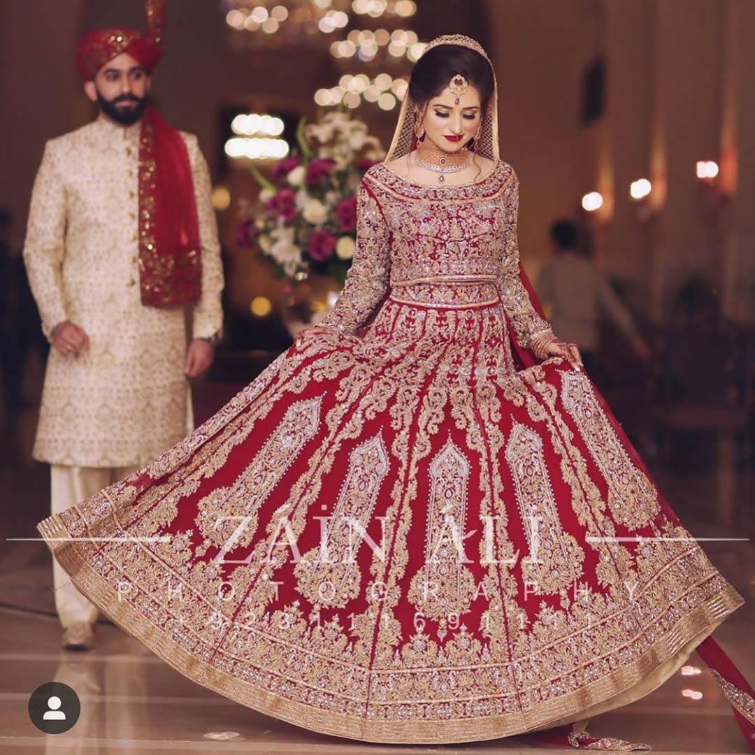 Trandy Pakistani Barat Bridal Dresses