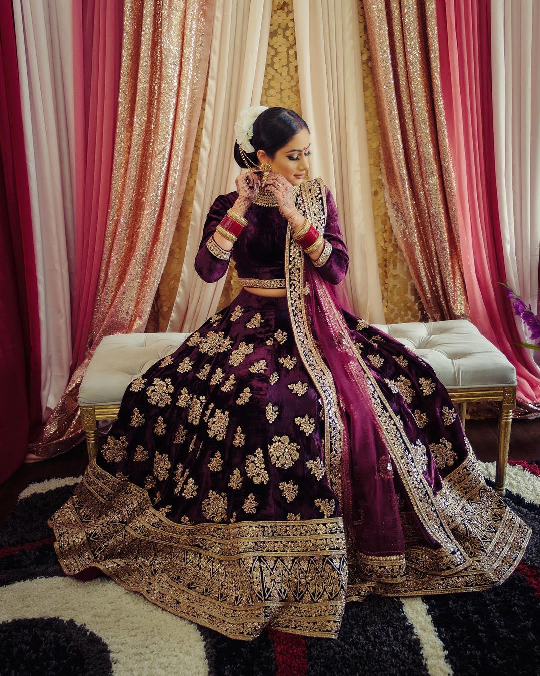 Cage Crinolines Wedding Lehenga and Gowns