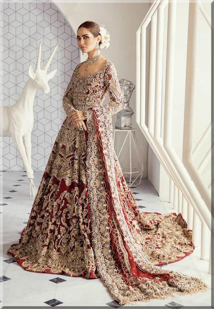 Tina Durani Latest Pakistani Bridal Dresses