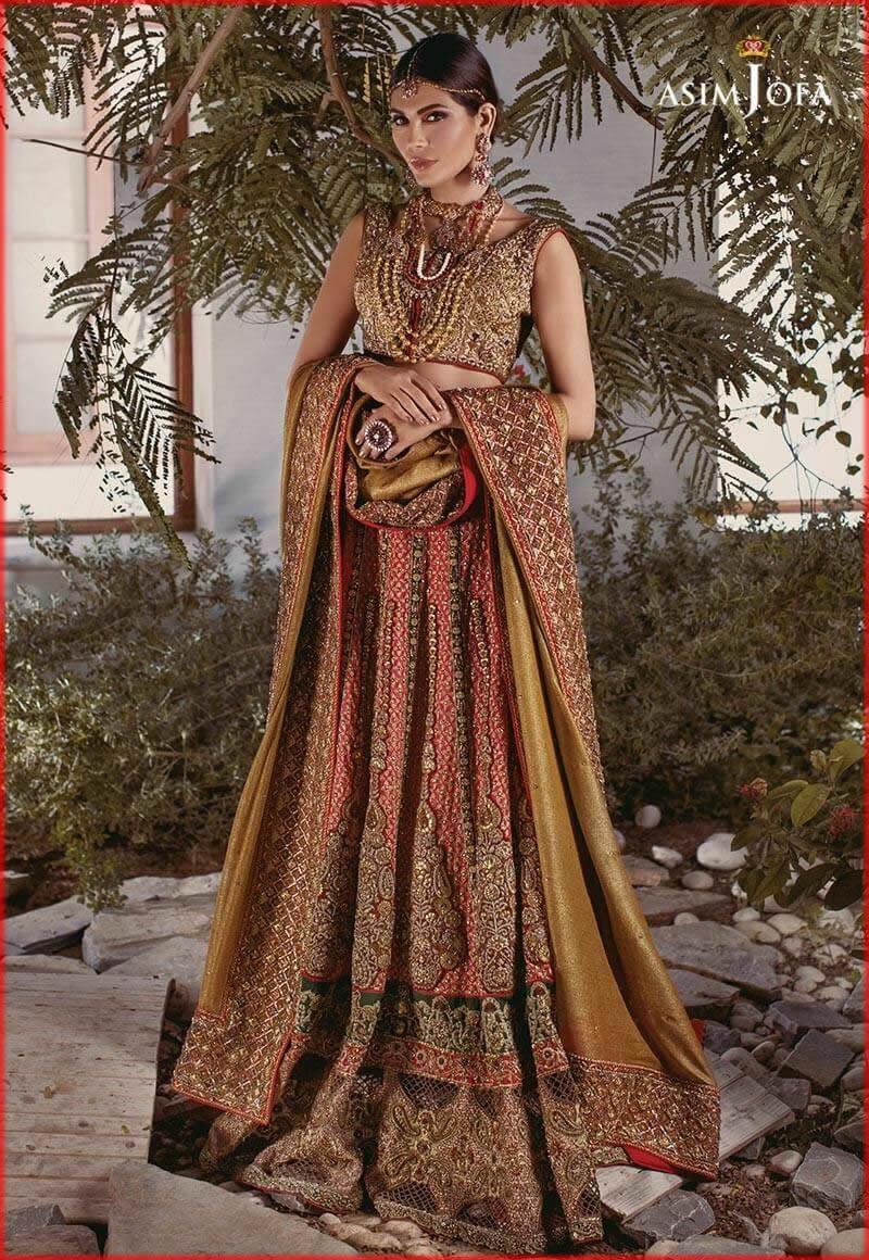asim jofa latest collection for bride