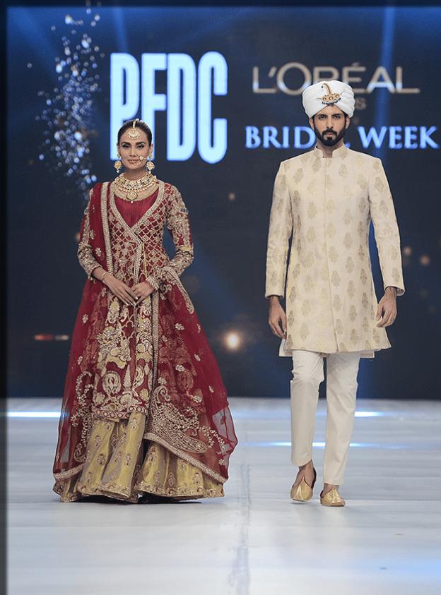 latest dresses designs of PFDC
