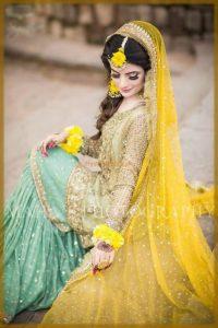 beautiful wedding sharara outfit