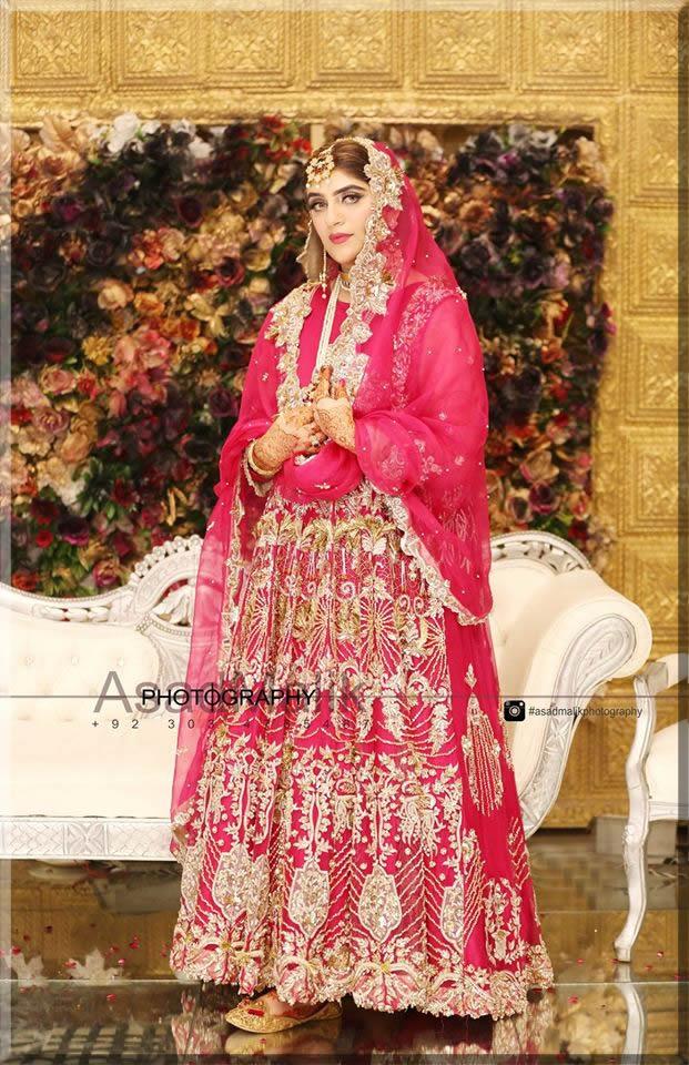 bride in a beautiful barart look