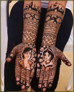outstanding mehndi for bride