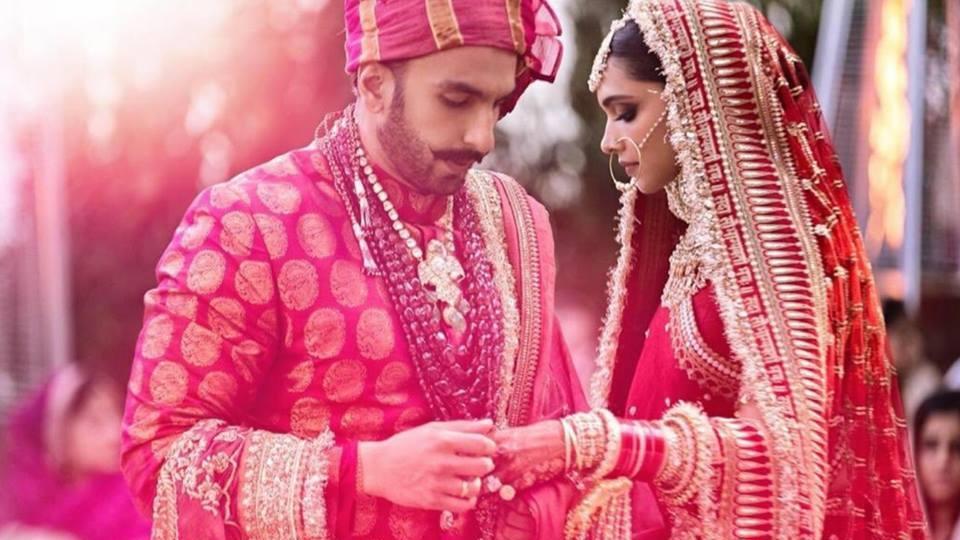 deepika indian wedding dress