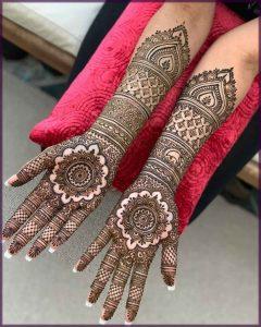 wedding mehndi designs for full hands