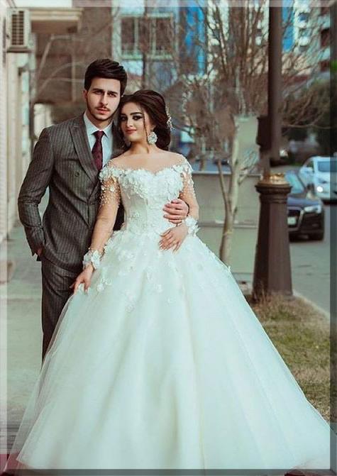 Engagement couple dresses