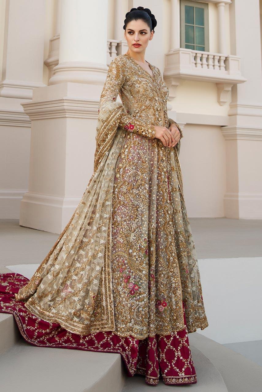 latest and unique bridal barat dresses