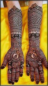 outstanding bridal mehndi designs