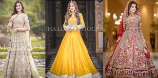Pakistani Bridal Dresses Lehengas and Gowns Collection