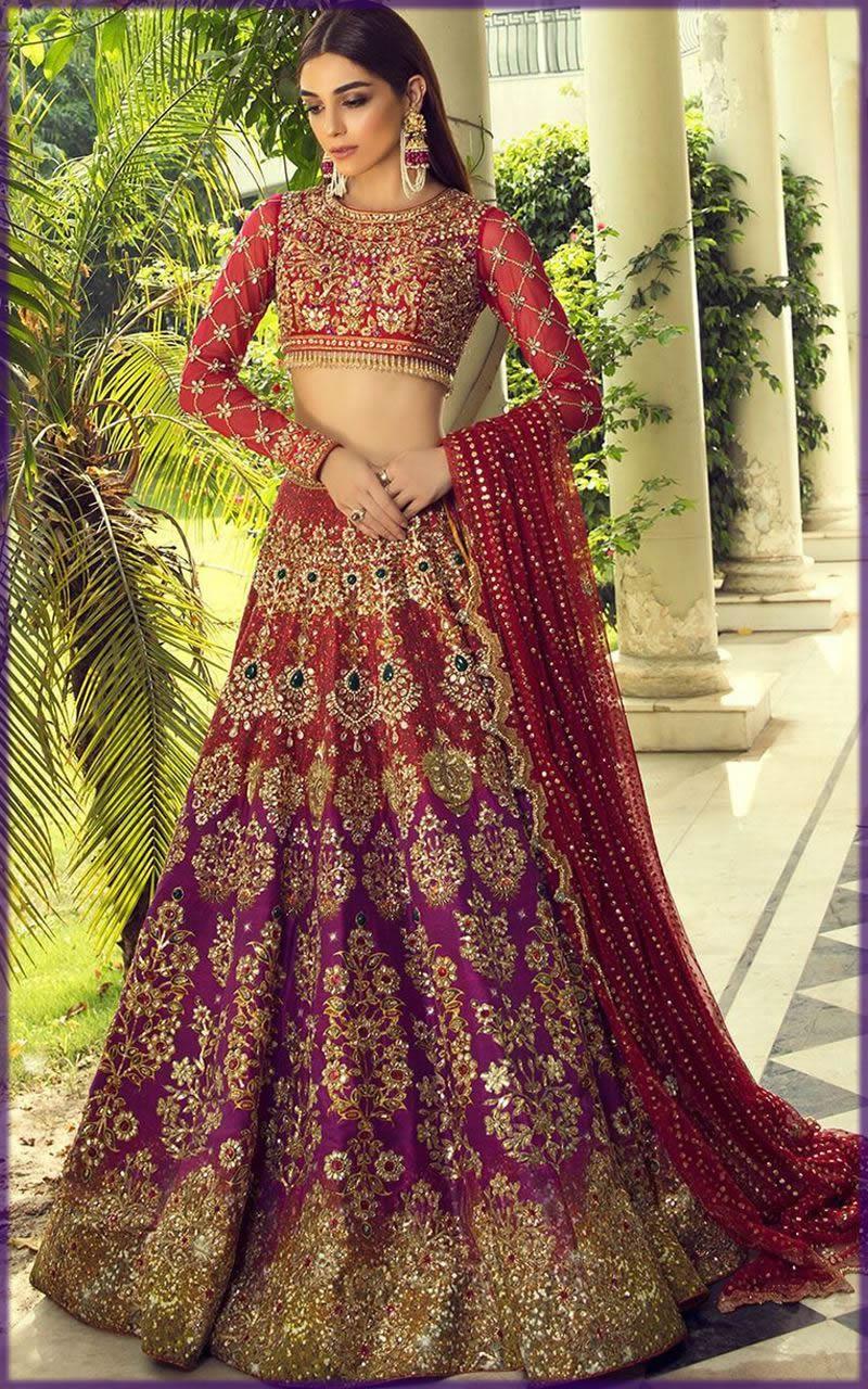 maya ali look stunning in bridal dress