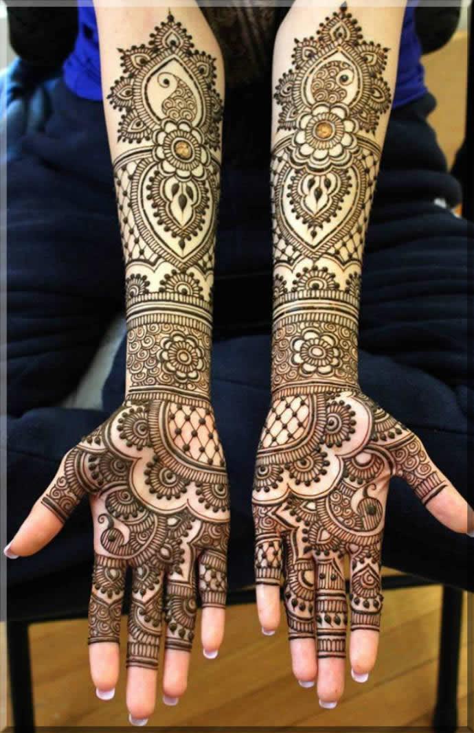 bridal mehndi design 2021 latest images full hand