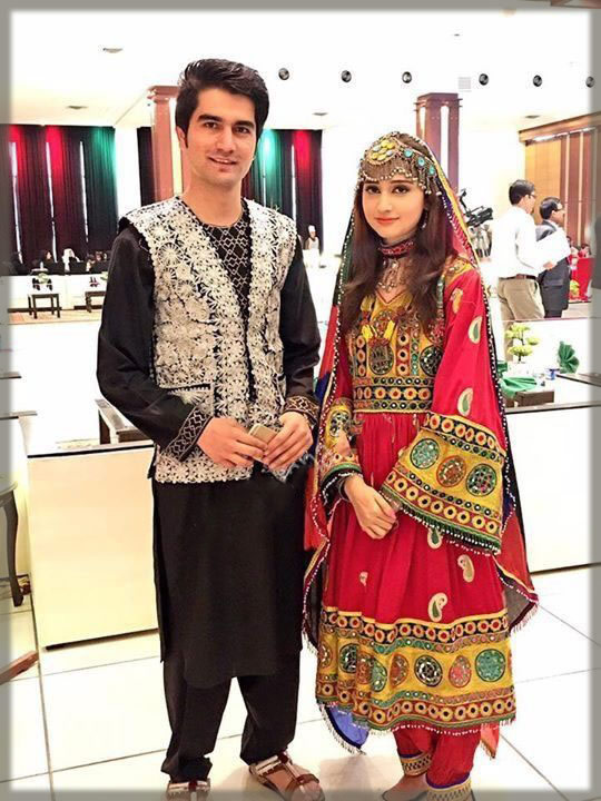 red and black Bridal and Groom Wedding Dresses