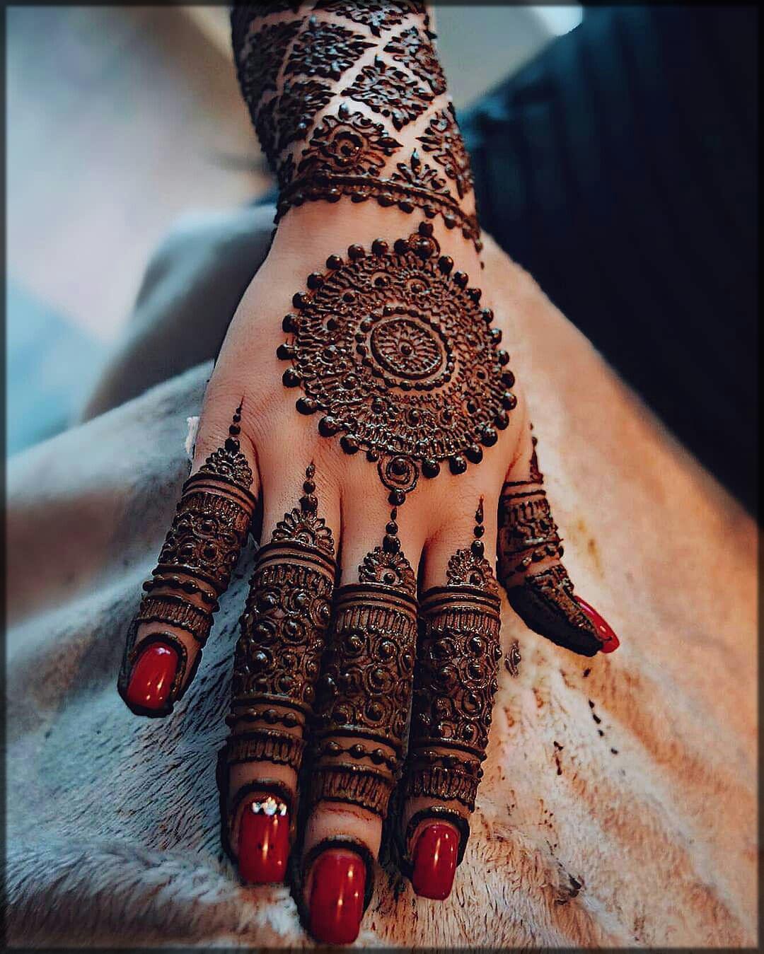 best tikki design for bride