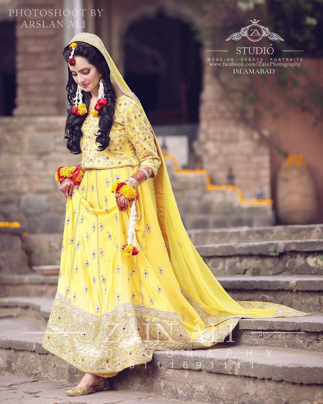 Bridal Mehndi Dresses 2020 Latest Trends In Pakistan