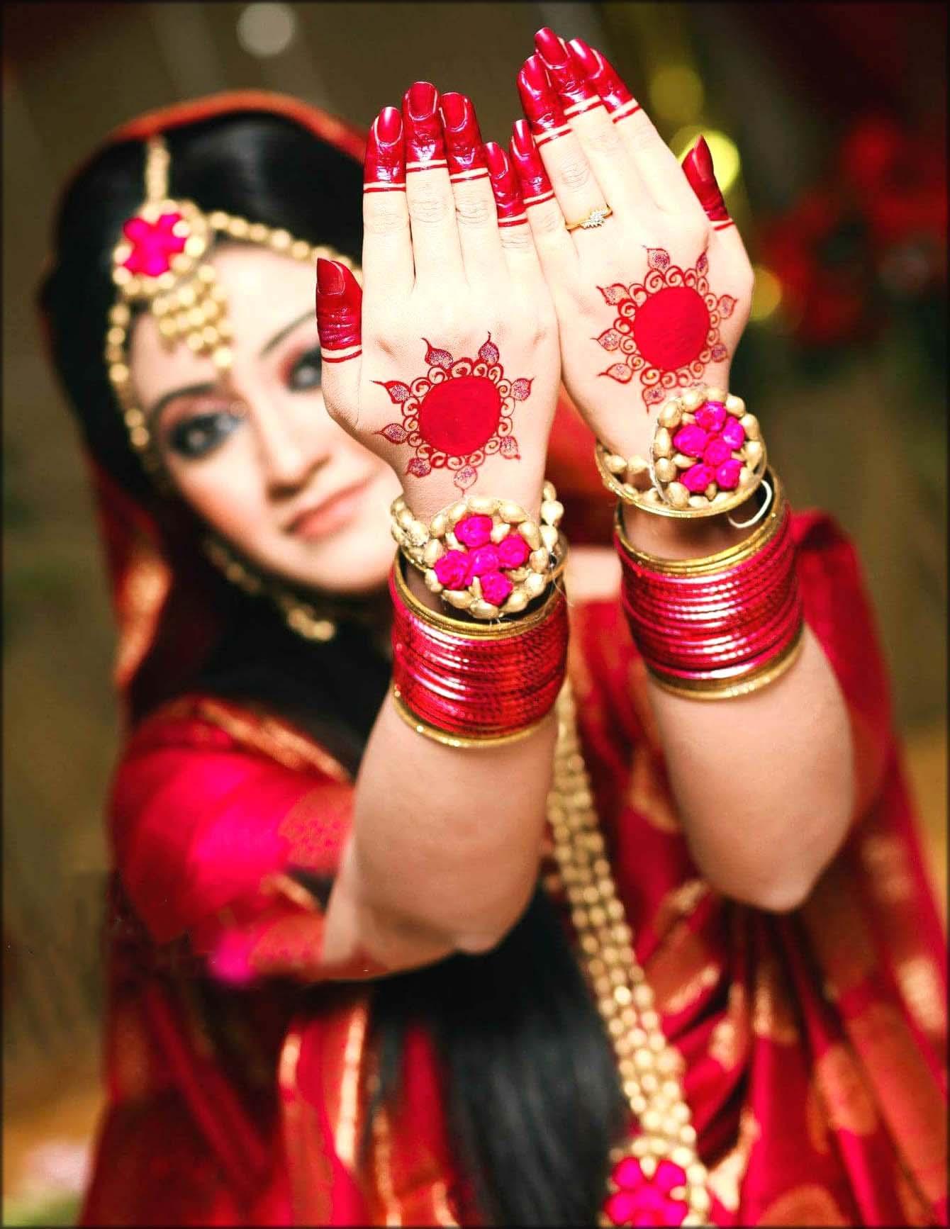 Bangali Bridal Hina Art
