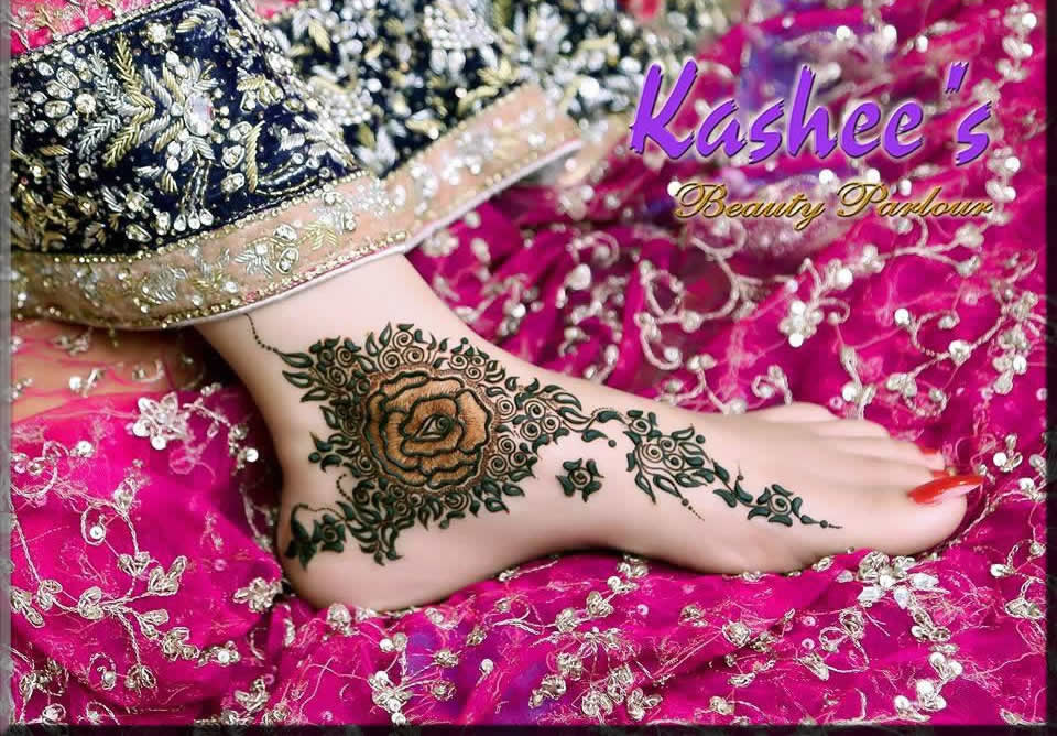 alluring feet kashee's mehndi designs for bride