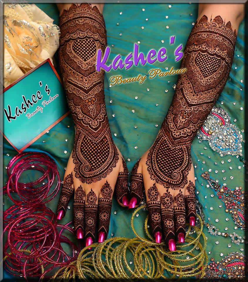 angelic full hand kashee's mehndi designs