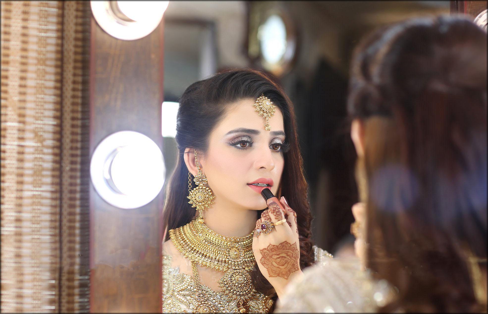 Decent Bridal Mehndi Design