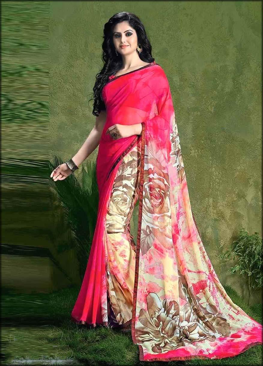 Digital Printed Latest Saree For Women