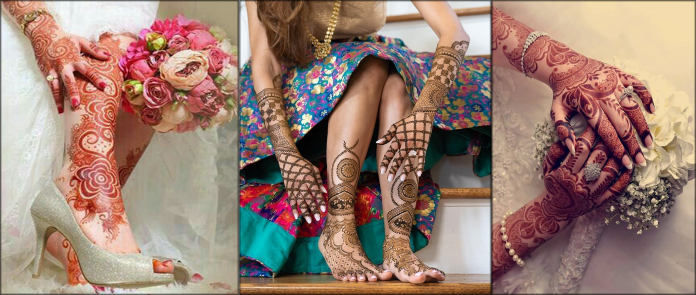 Turkish Mehndi Designs for Hands And Feet