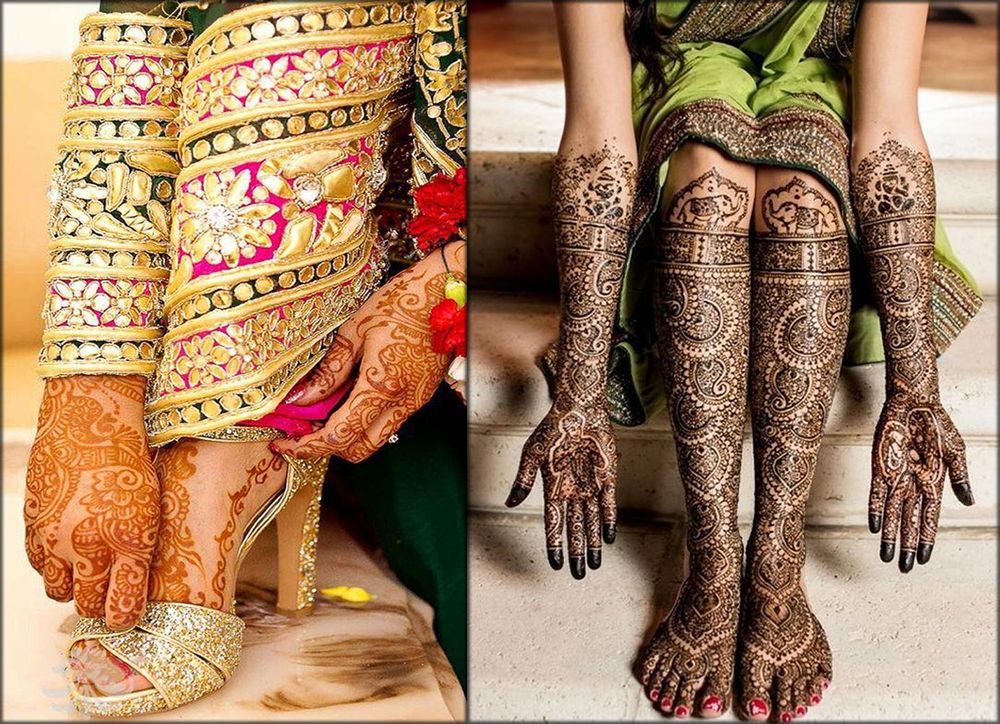 Feet Mango Indian Mehndi Designs