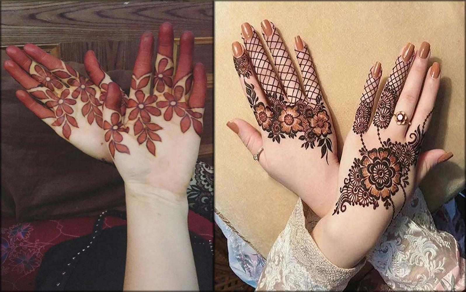 Floral Indian Mehndi Designs