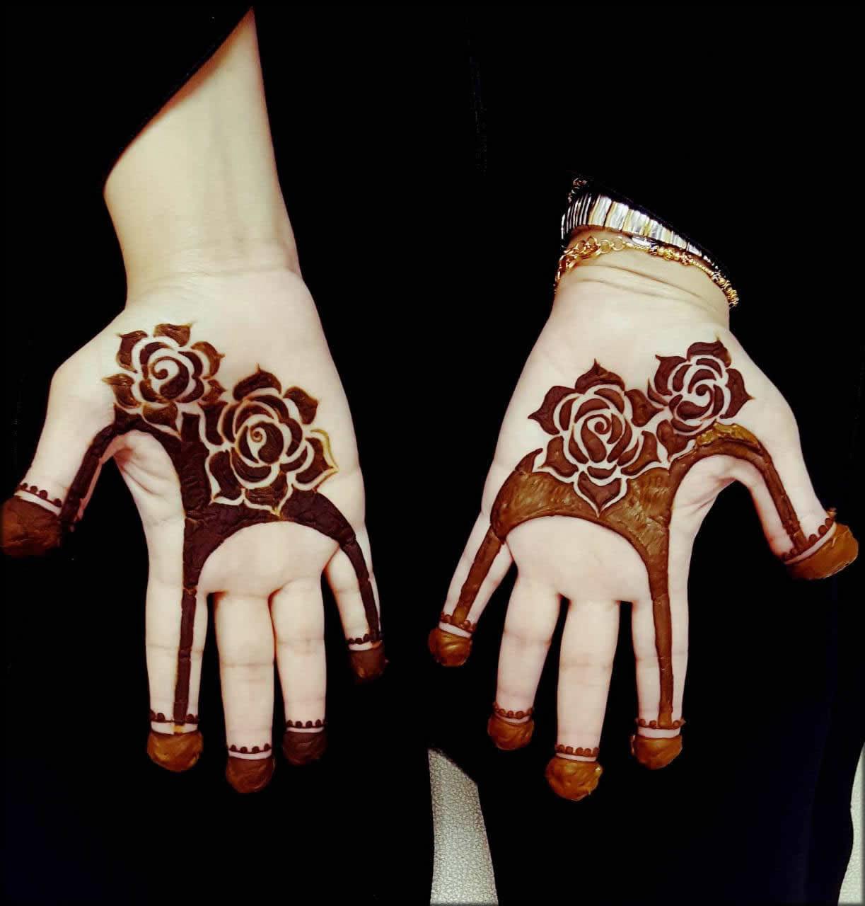 Flower Indian Mehndi Designs