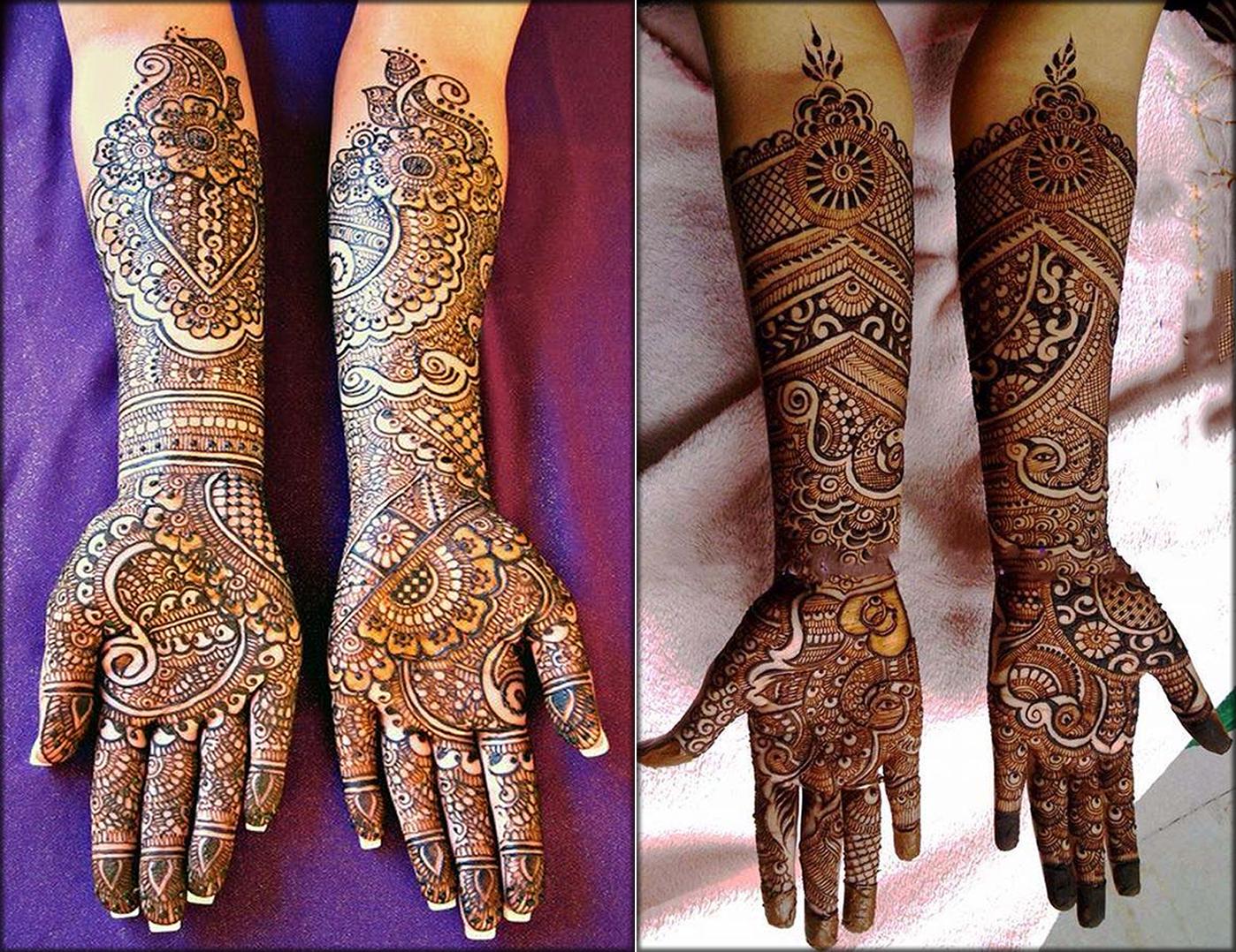 Full Hand Mango Hina Art