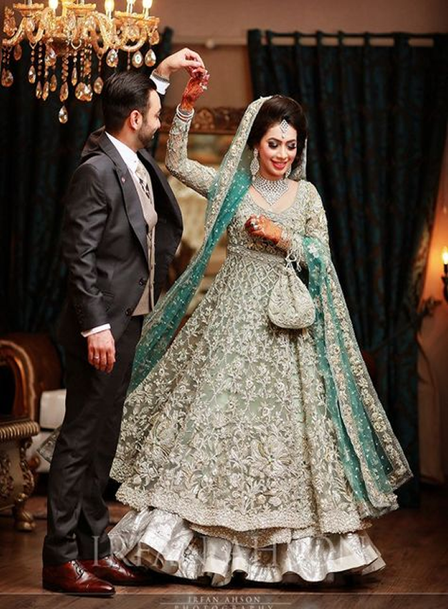 Pakistani Bridal Dresses Lehengas And Gowns Collection 2020,Camo Wedding Dress Orange