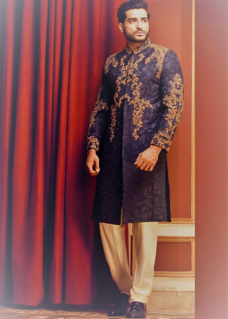 HSY beautiful work men sherwani collection