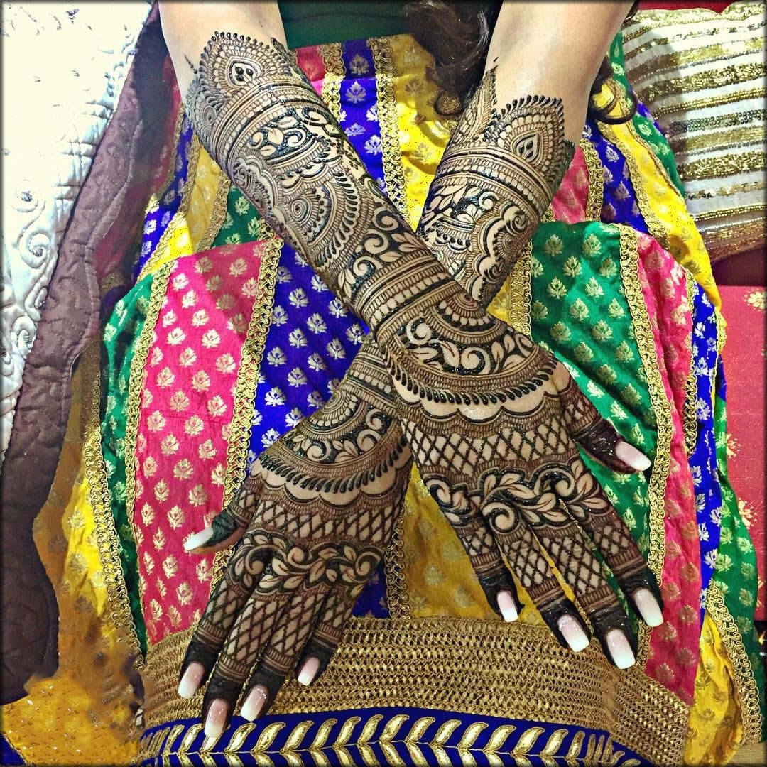 Floral Indian Mehndi Design