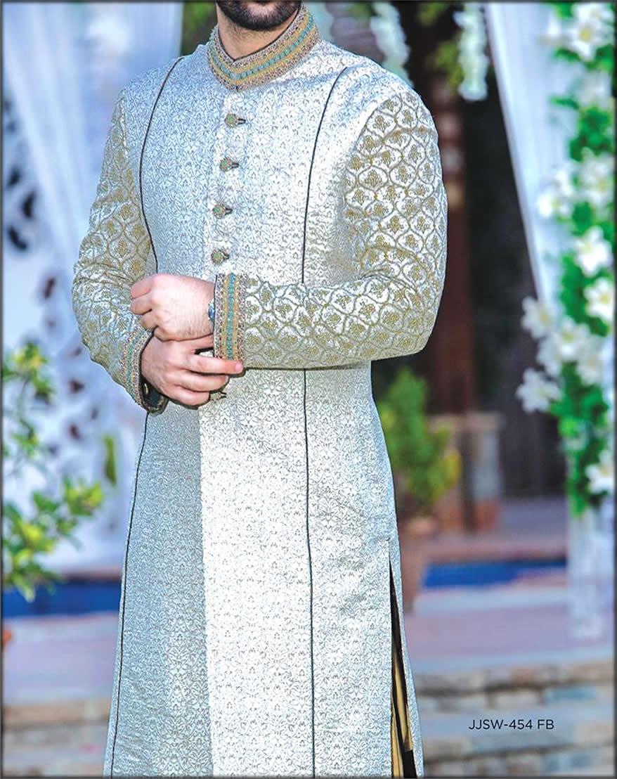 J. Stunning Groom Sherwani Design