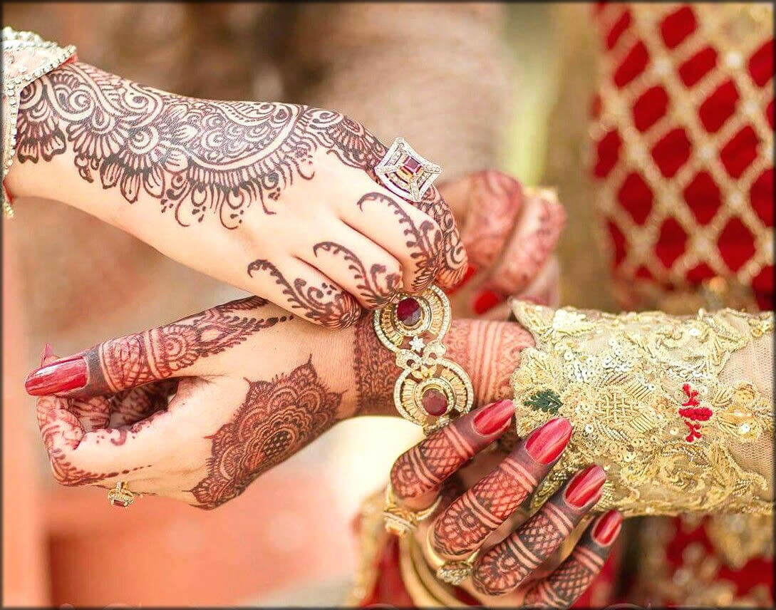 Latest And Stunning Mehndi Designs For Brides