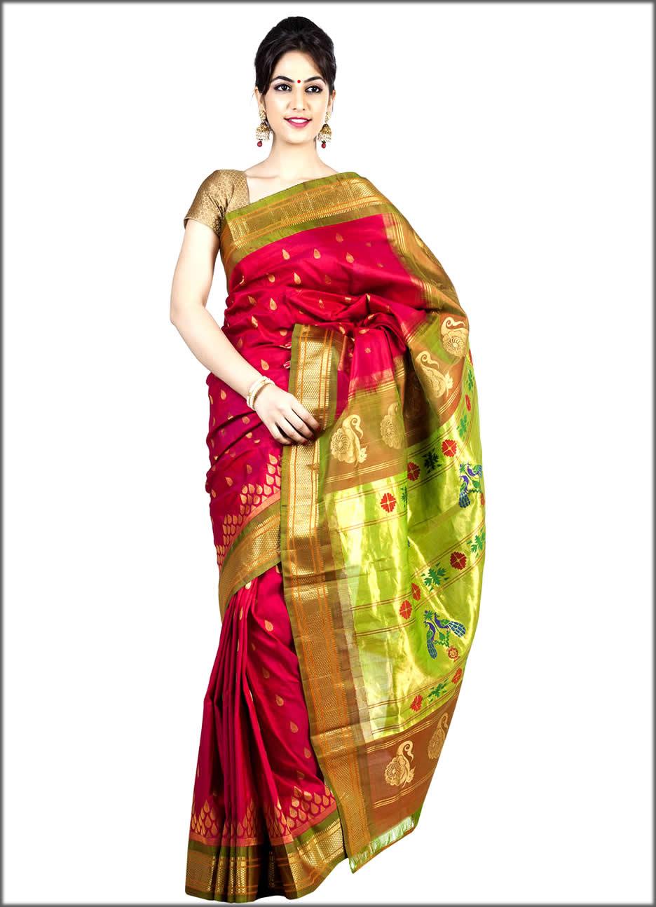 Latest Paithani Sarees for women