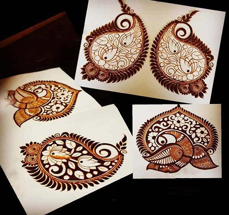 Mango Indian Mehndi Designs