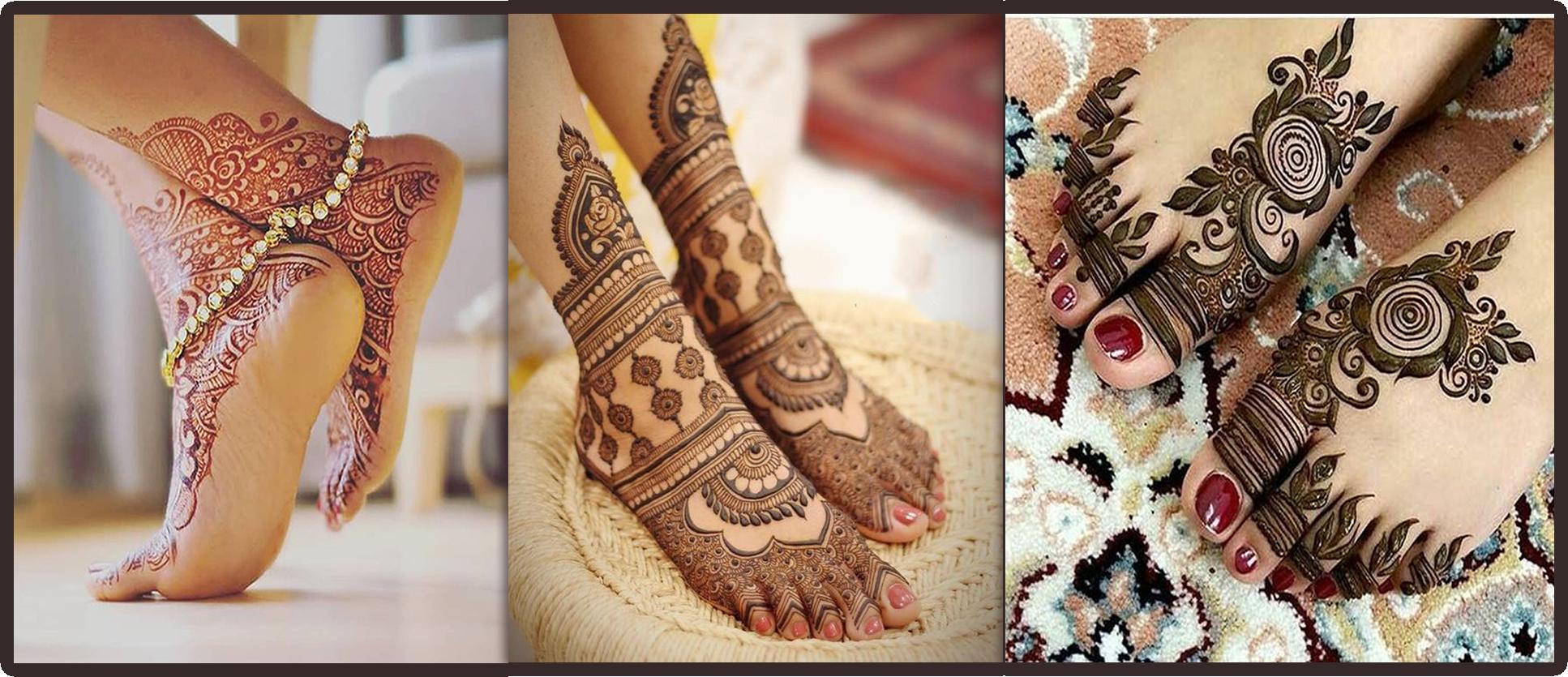 Mehndi Patterns for feet