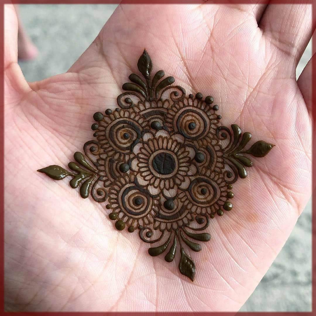 Moroccan tikki mehndi designs