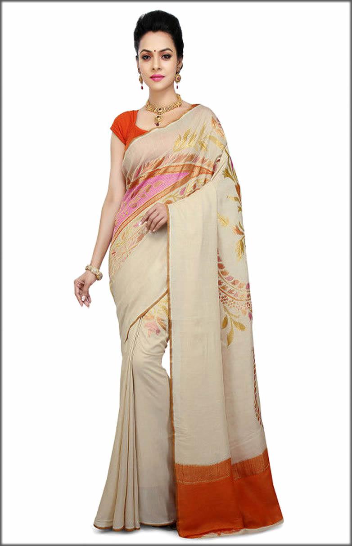 Indian Muga Silk Saree