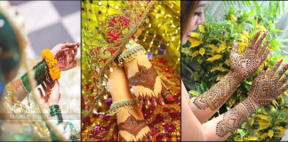 Latest Pakistani Mehndi Designs 2021 for Eid and Wedding Events