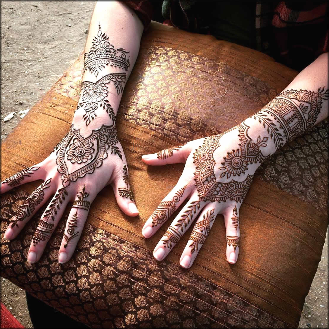 Cool Pakistini Mehndi Design And Tattoo