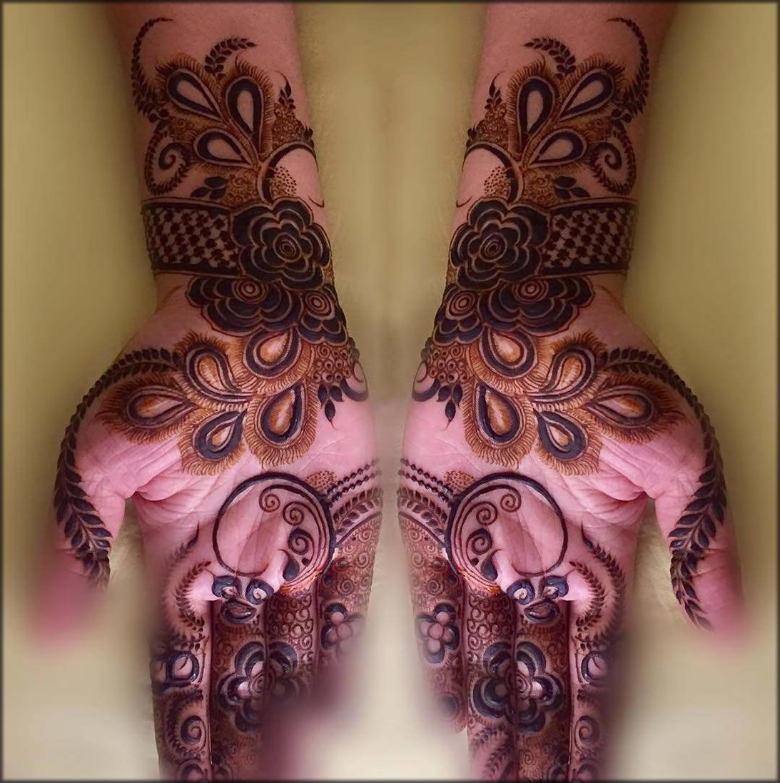 Peacock-Stunning Mehndi Designs For Hand