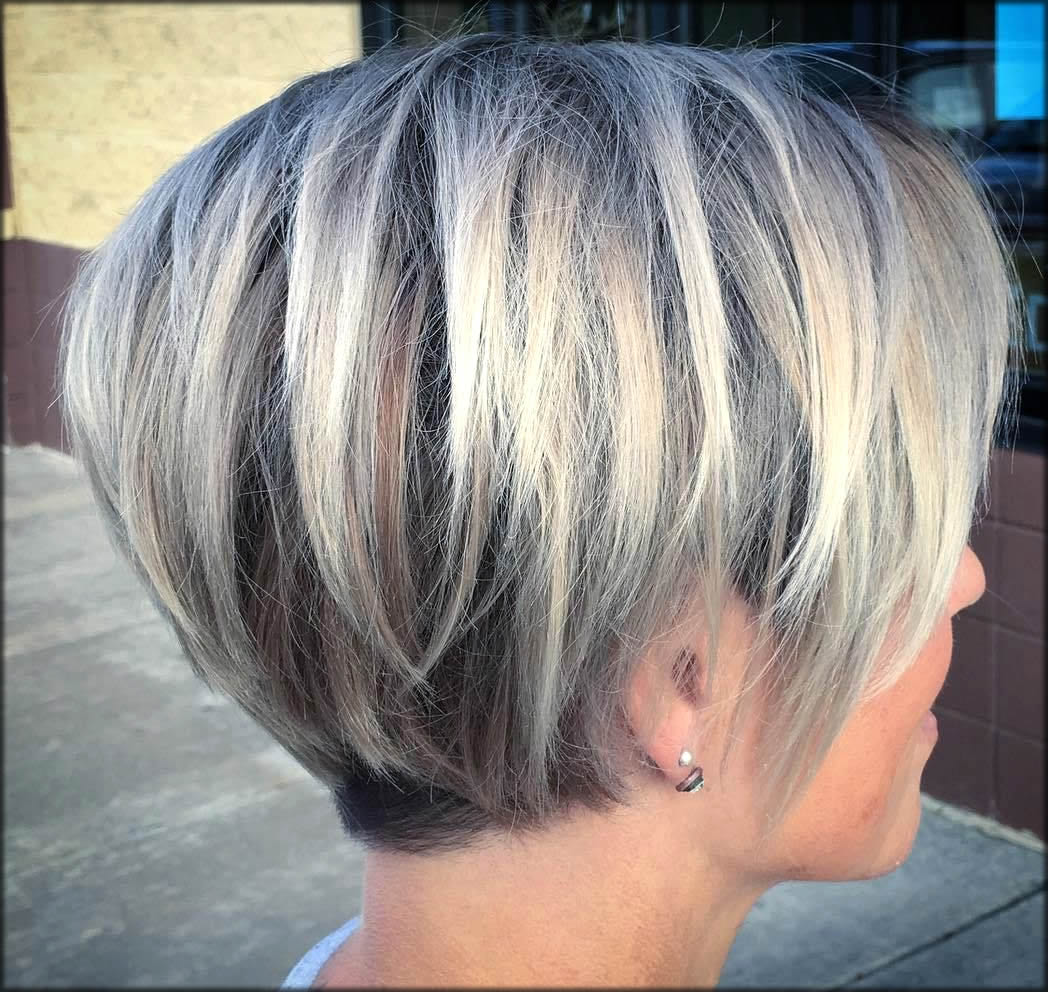 Root Fade Amazing Long Blonde Pixie
