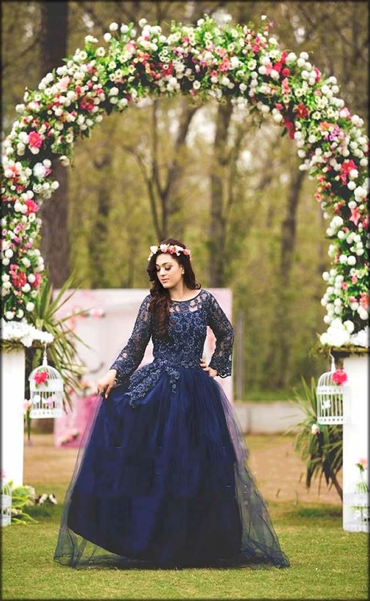 Royal Dress As A Bridal Shower Dresses