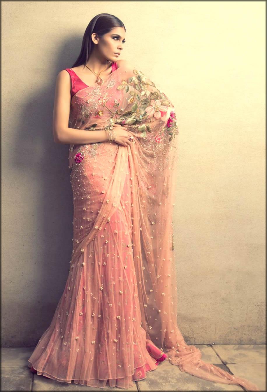 Sania Maskatiya Saree Design