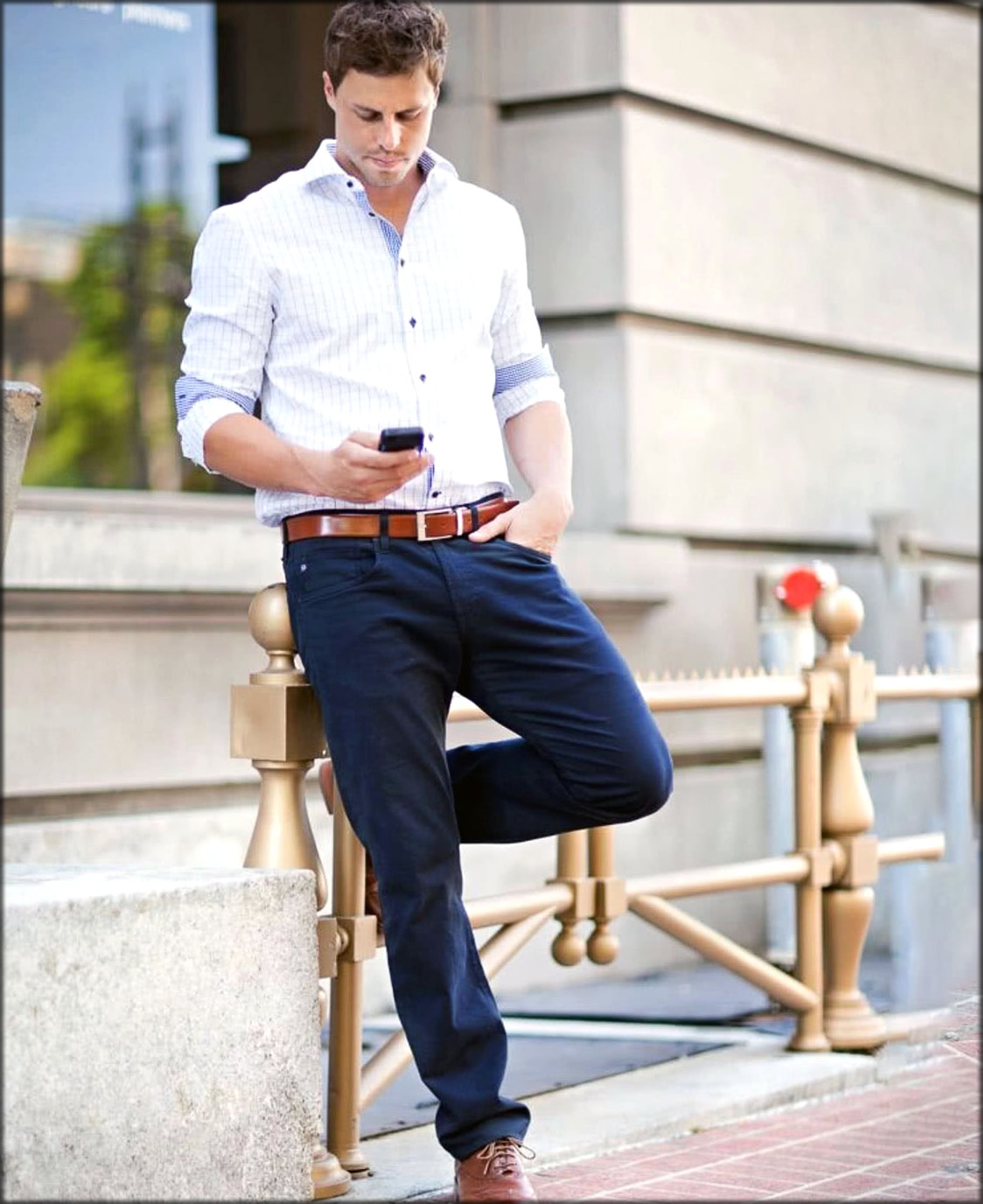 Smart Casual Dress For Men